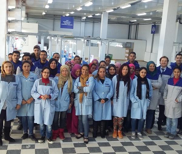 Notre site de production en Tunisie
