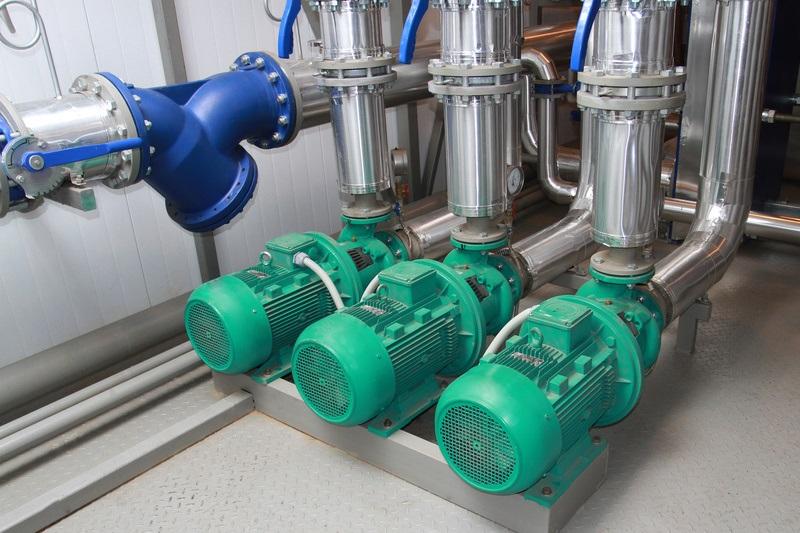 Pompes, vannes, robinetterie industrielle